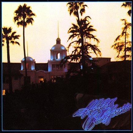 hotel california eagles poster - 1