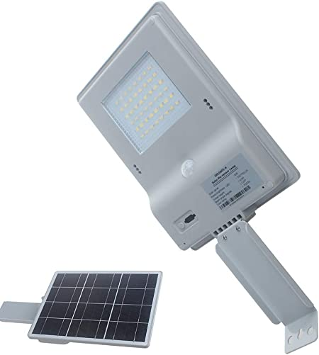 48 LED 5000mAh Solar Light, Motion Sensor Lights,Waterproof Wireless Wall Light with Mounting Pole, for Garden Road, Fence, Front Door, Patio