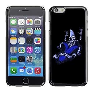 "For Apple Iphone 6 Plus / 6S Plus ( 5.5 ) , S-type Divertido plátano Esqueleto"" - Arte & diseño plástico duro Fundas Cover Cubre Hard Case Cover"