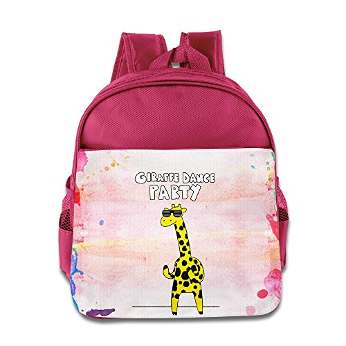 Discovery Wild Kids Child Backpack Satchel School Book Bag, Giraffe Dance Party - Pink (Dance Revolution Dance Costumes)