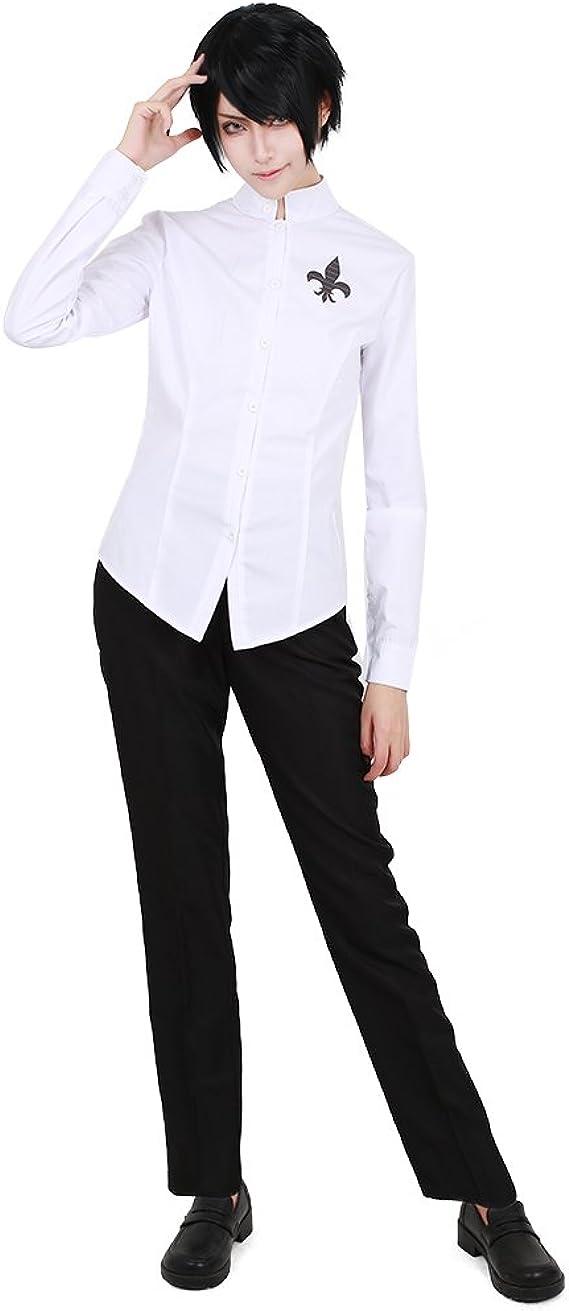 Miccostumes P5 Yusuke Kitagawa - Disfraz de Cosplay para Hombre, Blanco, Medium: Amazon.es: Ropa y accesorios