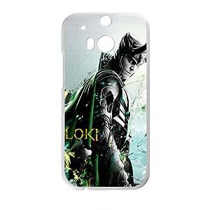RHGGB Loki Fashion Comstom Plastic case cover For HTC One M8