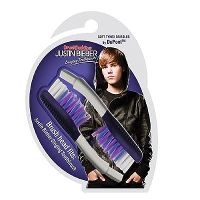 BrushBuddies Justin Bieber Singing Toothbrush Replacement Brush head 1 ea