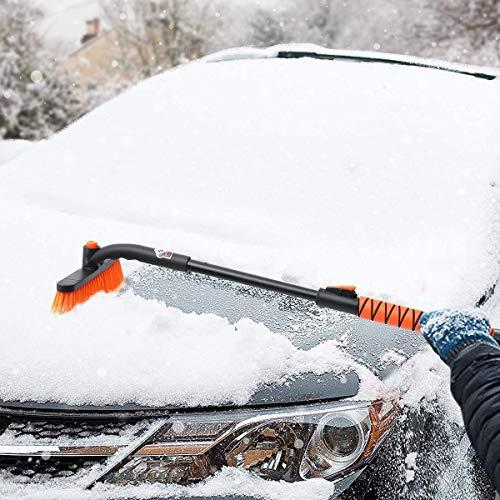 Car snow brush