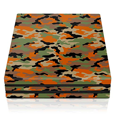 Controller Gear PS4 Pro Console Skin – Flecktarn Camo Horizontal – PlayStation 4