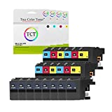 True Color Toner LC10E 20 Pack LC 10E High Yield Compatible Ink Cartridge for Brother MFC-J6925DW Printer (LC10EBK Black, LC10EC Cyan, LC10EM Magenta, LC10EY Yellow)