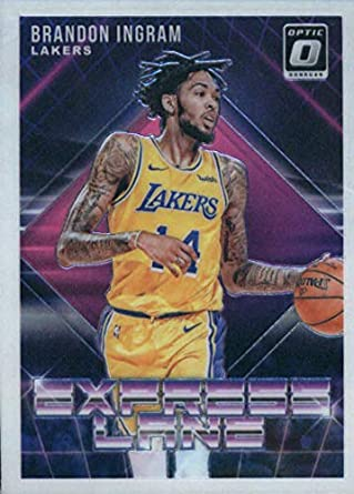 c70ef7fa046 2018-19 Donruss Optic Express Lane #9 Brandon Ingram Los Angeles Lakers NBA  Basketball