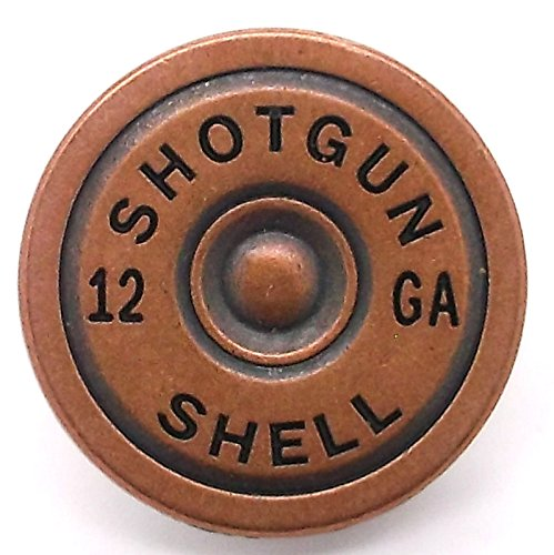 Shotgun Shell Concho Snap Cap Antique Copper 7/8