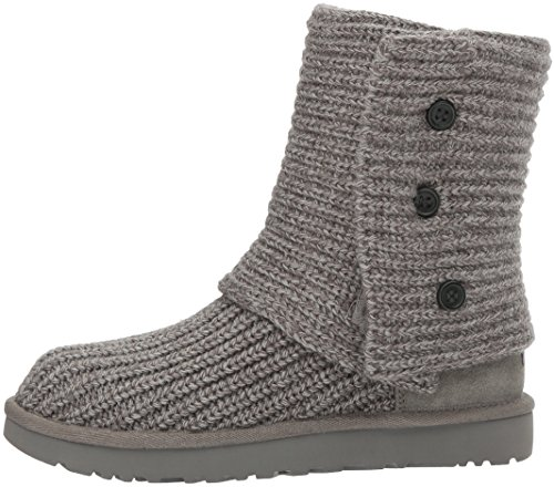 UGG Women's Classic Cardy Winter Boot, Grey, 8 B US by UGG (Image #5)