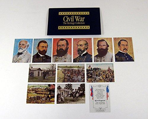 (1992 Bon Air Civil War Heritage Series 2 Trading Card Set (12) Nm/Mt)