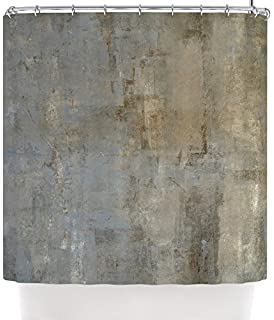 Kess InHouse CarolLynn TICE Overlooked Brown Gray Shower Curtain 69 By 70 Inch
