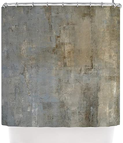 Kess InHouse CarolLynn Tice QuotOverlookedquot Brown Gray Shower Curtain