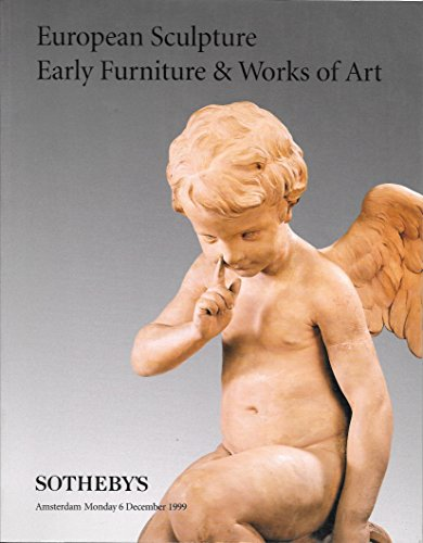 Sotheby's: European Sculpture, Early Furniture & Works of Art; Amsterdam; December 6, 1999; Sale AM0751 (Furniture Garden French Style)