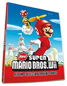 Nintendo CMARIOTR Super Mario Bros Wii - Álbum de cromos de Super Mario Bros (importado de Francia)