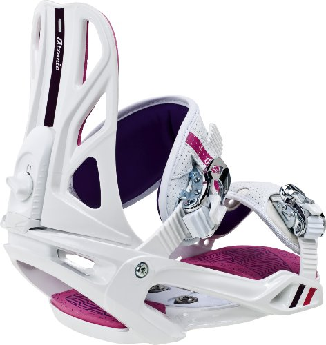 ATOMIC Snowboard Bindung Elise, white/pink, M, AF5001050M