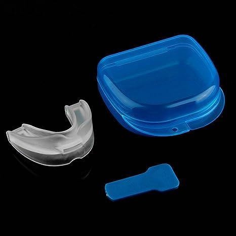 ASIV Bandeja de bruxismo preventivo de silicona blanda, ayudar a reducir los ronquidos, durmiendo inquieto y protector de dientes bucales: Amazon.es: Hogar