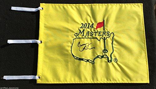 - CONDOLEEZZA RICE SIGNED 2014 MASTERS PIN FLAG SECRATARY OF STATE PROOF COA J1