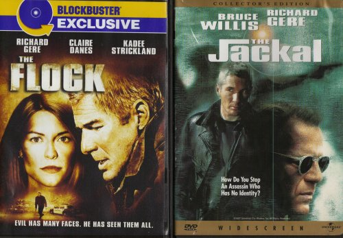 The Flock , The Jackal : Richard Gere 2 Pack