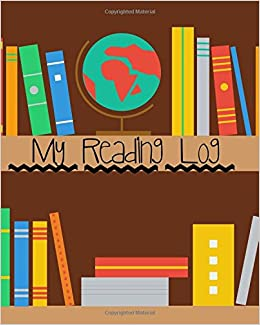 amazoncom my reading log book shelves reading journal record the books you have read perfect gift for young children book lovers boys girls