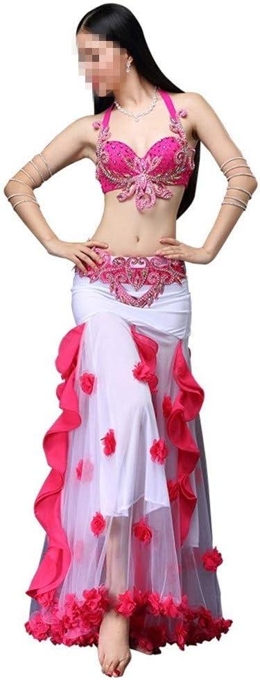 Vestido de traje de baile de mujer Falda de danza del vientre ...