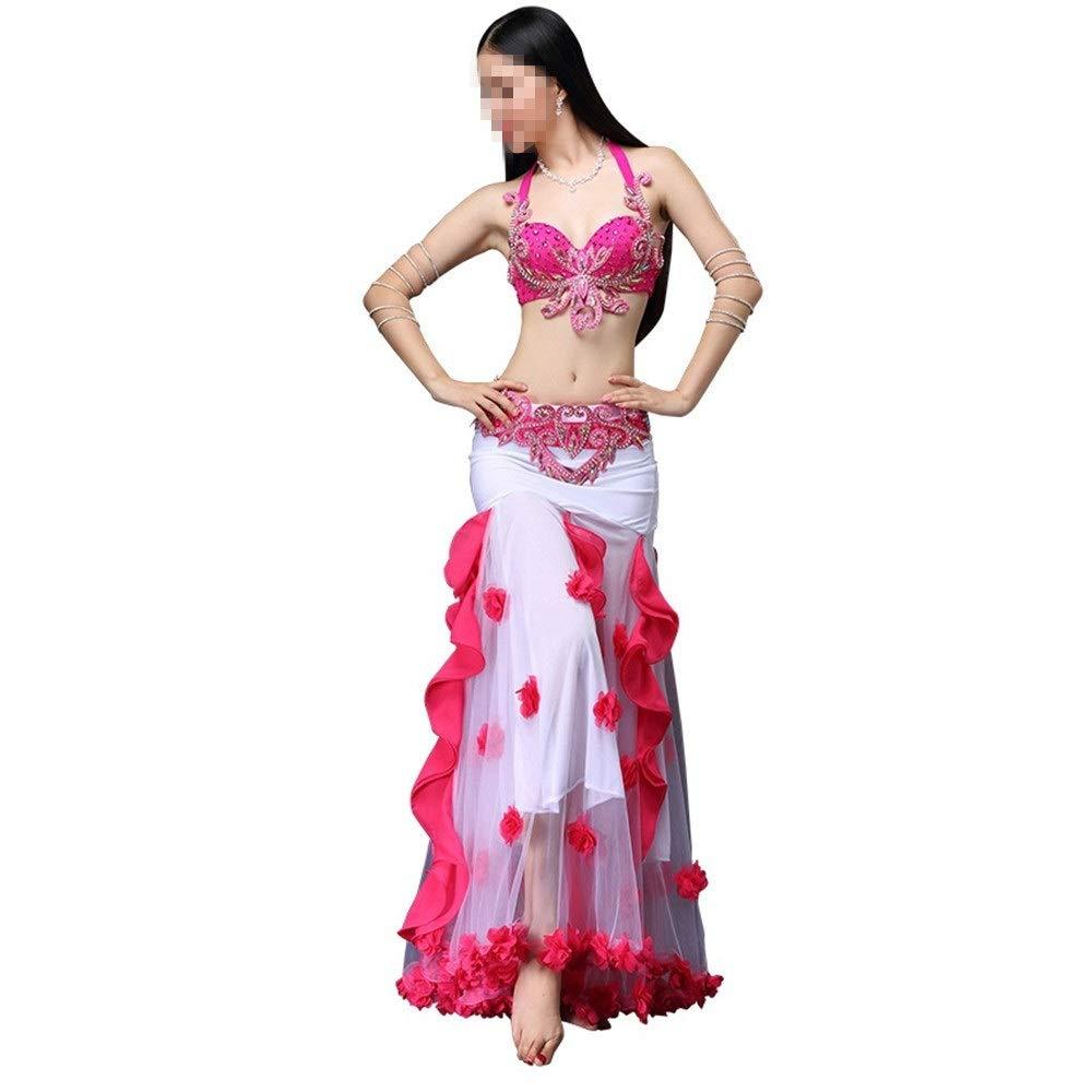 Gububi Vestidos de Baile Latino para Mujer Falda de Danza del ...