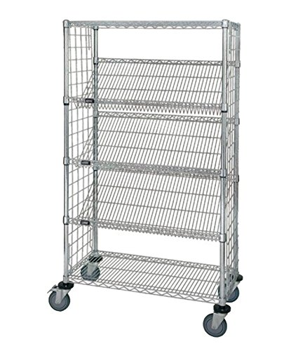 Review Quantum Storage Systems WRCSL5-63-1836EP 5-Tier Slanted Wire Shelving Suture Cart, By Quantum Storage Systems by Quantum Storage Systems