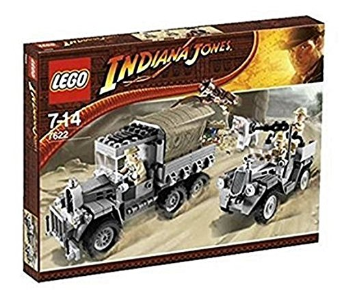 LEGO #7622 Indiana Jones Race for the Stolen Treasure