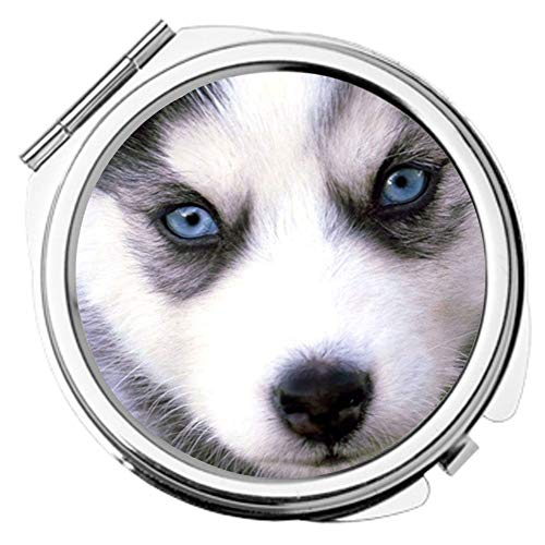 Babu Building Individual Use for Cosmetic Mirror Printing Siberian Husky Children Made by ()