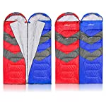 Outdoor Rectangular Twin Sleeping Bag With Hood 4 Season Camping Designed For Extreme Temperature Upto 20 F Use As Single Or Double Sleeping Bag For Camping Hiking Or Trekking Carry Bag