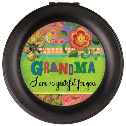 Carson Home Accents 19537 Grandma Round Music Box, 4.5-Inch by 2.75-Inch