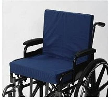 Living Healthy Products AZ 74 5011 4 Wheelchair Cushion With Back 4 In