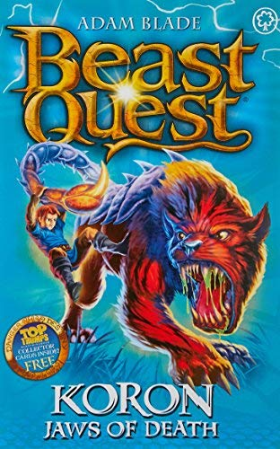 Beast Quest: 44: Koron, Jaws of Death by Blade, Adam (2011) Paperback