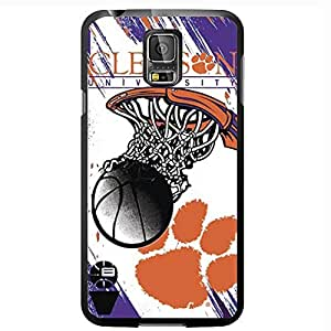 Orange, Burgundy and White Clemson University South Carolina Basketball Sports Hard Snap on Phone Case (Galaxy s5 V)