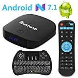 EVANPO Android 7.1 TV Box Smart TV Player Media Box Quad Core CPU