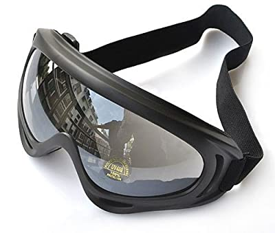 Erica UV400 Protective Glasses Snowmobile Ski Bike Motorcycle Goggle -Multicolor