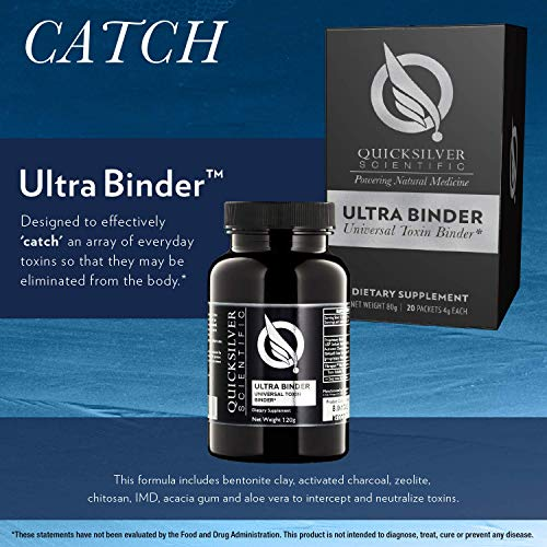 Quicksilver Scientific Push Catch LiverDetox Protocol - 2 Piece Kit with Ultra Binder + Liver Cleanse Botanicals (Push/Catch) by Quicksilver Scientific (Image #3)