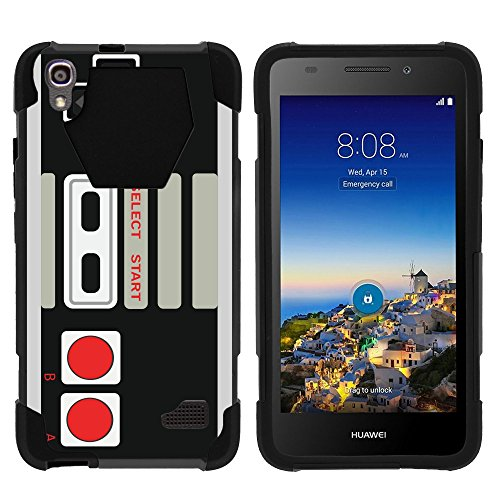MINITURTLE Case Compatible w/ Huawei Pronto LTE Case | SHOCK Impact Hard Rubber Durable Unique Creative Cover, SnapTO Game Controller For Sale