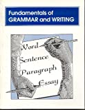 Fundamentals of Grammar and Writing, Alden, Richard, 1562261991