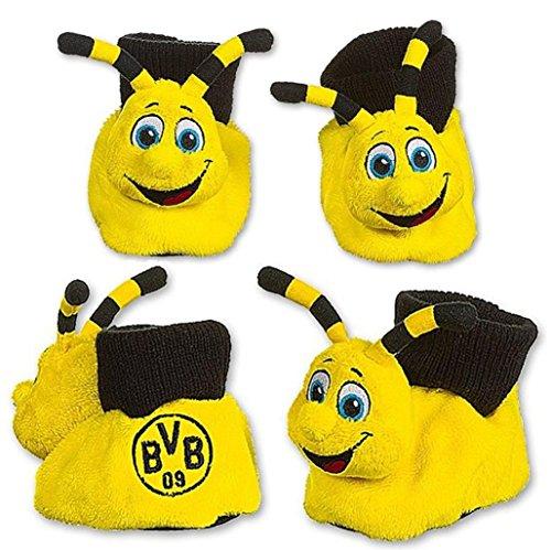 Borussia Dortmund Babyschühchen / Baby Schuhe / Shoes - Maskottchen Emma BVB 09