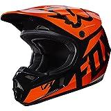 Fox Racing Race  Youth/Kids  V1 Motocross Motorcycle Helmet - Orange / Medium