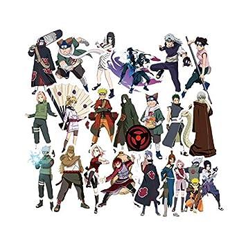 100 Pegatinas de Dibujos Animados japoneses de la Serie Naruto para Ordenador portátil, monopatín, Bicicleta, Motocicleta, Coche, Bricolaje, ...