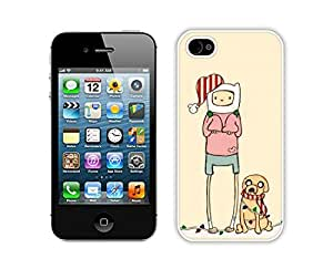 Popular Sell Christmas Memory White iPhone 4 4S Case 1