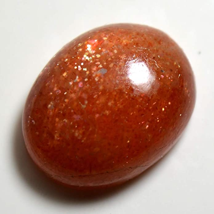 Sunstone Oval Cabochon 13x12 mm 10 Cts Sunstone Loose Gemstone. Sunstone Shine Cabochon Natural Sunstone Smooth Cabochon