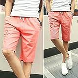 2016 Summer men's high quality linen pants cotton linen five pants City boy linen pants