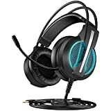 ECOOPRO Surround Stereo Gaming Headset with Mic...