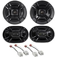 Polk Audio Front+Rear Speaker Replacement Kit For 2006-2009 Dodge Ram 2500/3500