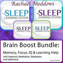 Brain Boost Bundle: Memory, Focus, IQ, Hypnosis, Meditation and Subliminal - The Sleep Learning System