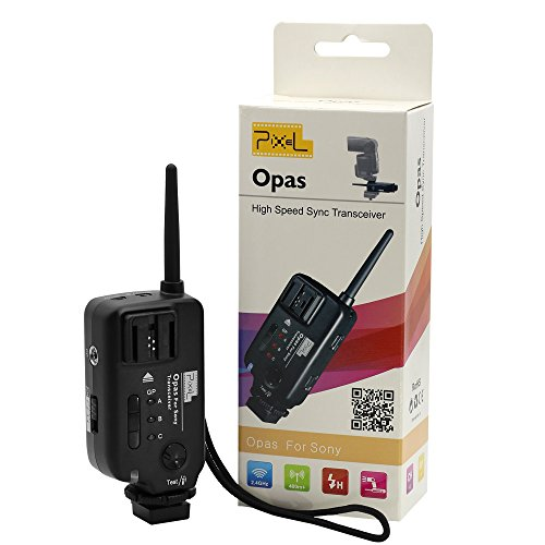 PIXEL Opas Channel Wireless High-speed Sync Flash Trigger Transceiver-professional for Sony DSLR Digital Camera by PIXEL