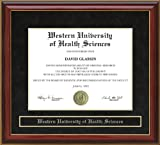 Western University of Health Sciences (WesternU) Diploma Frame - Mahogany