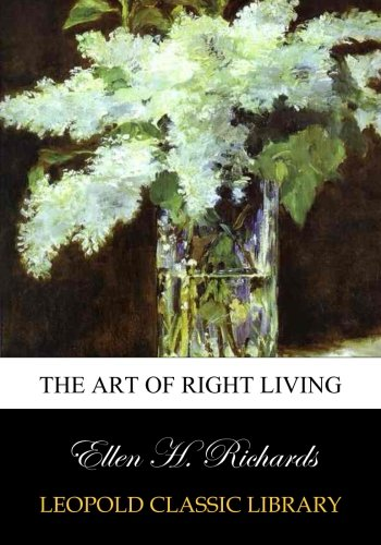 The art of right living PDF